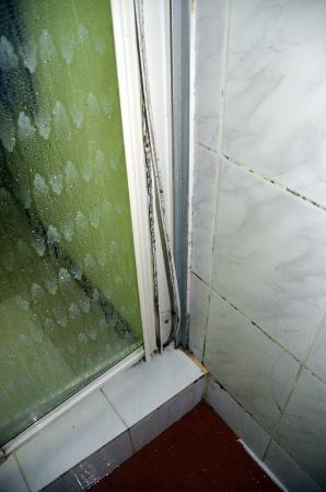 Chez Batista Villas: Duschabtrennung von innen Superior room 1