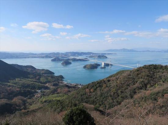 亀老山展望公園, 景色