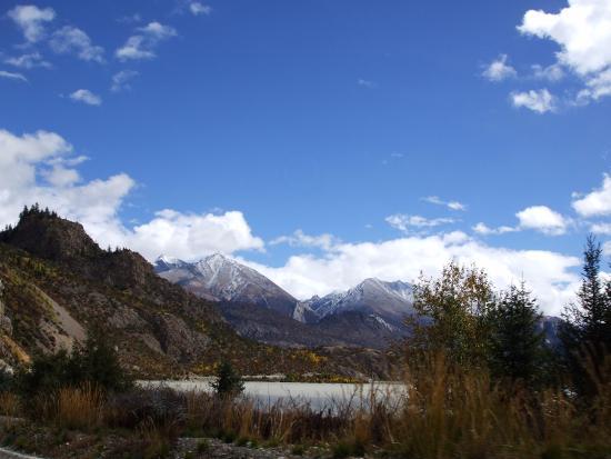 Bomi County, Kina: Midui Glacier, 米堆冰川