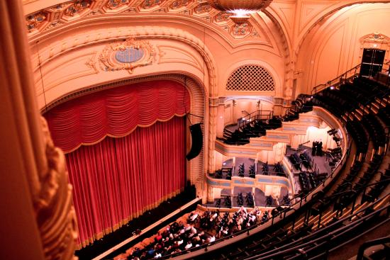Orpheum Theater From The Gallery