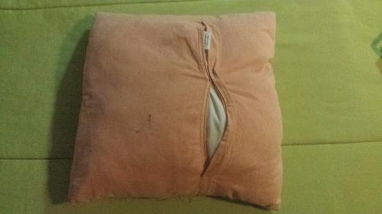 Pousada Marambaia Do Porto: almofada da cama