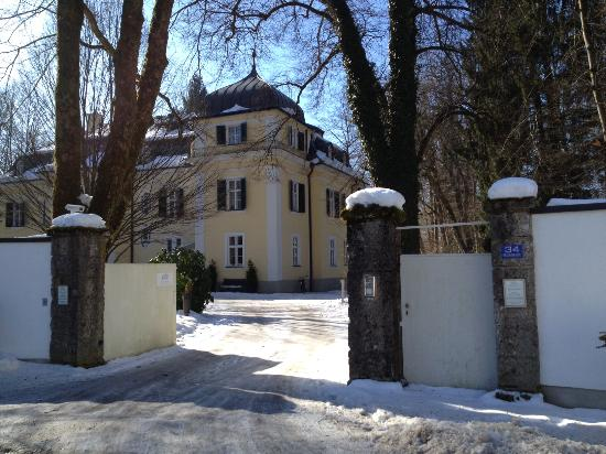 Villa Salzburg outside gate of villa - picture of villa trapp, salzburg - tripadvisor