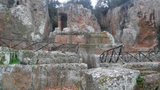 Sovana, Италия: tomba ildebranda