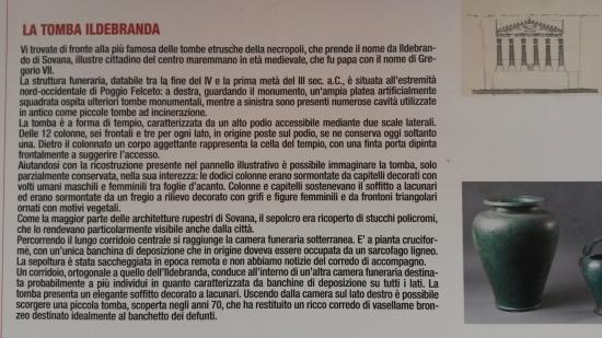 Sovana, Italia: tomba ildebranda informazioni