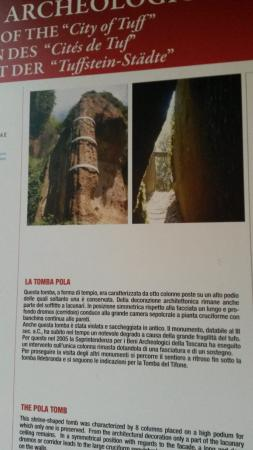 Sovana, Italia: tomba pola informazioni