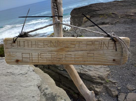 South Cape Bay: Info Board