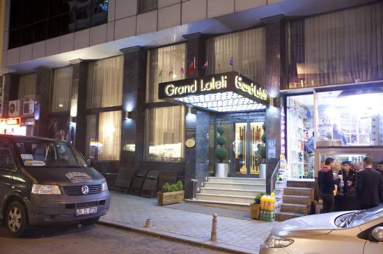 Grand laleli hotel istanbul turquie voir les tarifs for Hotels in istanbul laleli