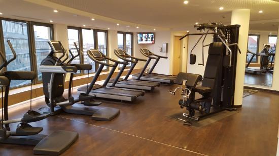 Fitnessraum hotel  Fitnessraum - Bild von Hotel Novotel Nuernberg Centre Ville ...