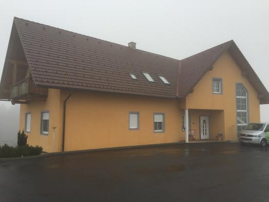 Unterlamm, Austria: Pension from the rear