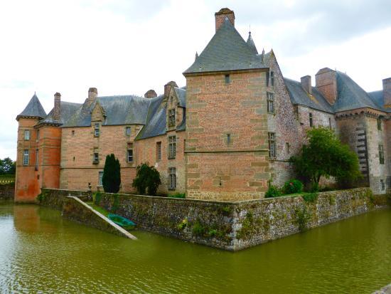 Carrouges, Frankrijk: Moat