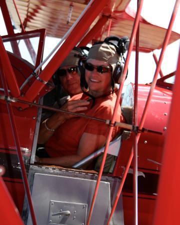 Manteo, Carolina del Nord: Just before take off!