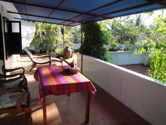 Villa Jacaranda: terrace rooftop room