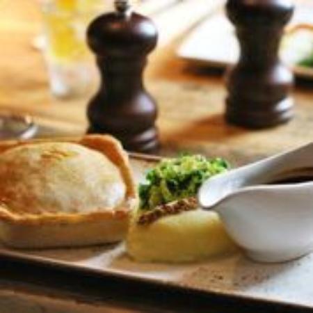 Aldermaston, UK: Home cooked food