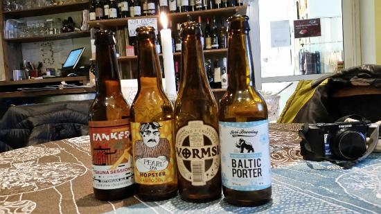 Kuressaare, Estland: Вкусная кухня и огромный выбор крафтового пива
