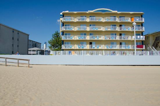 Crystal Beach Hotel: From the beach