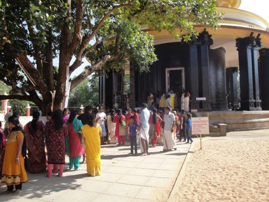 Sivagiri: entrance to the ashram