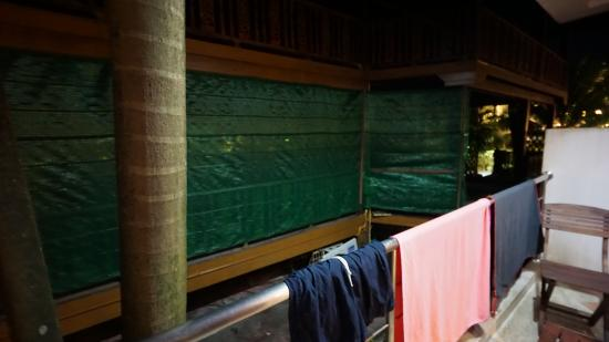 V.J. Searenity Koh Chang : la vue du balcon sur la mer ....