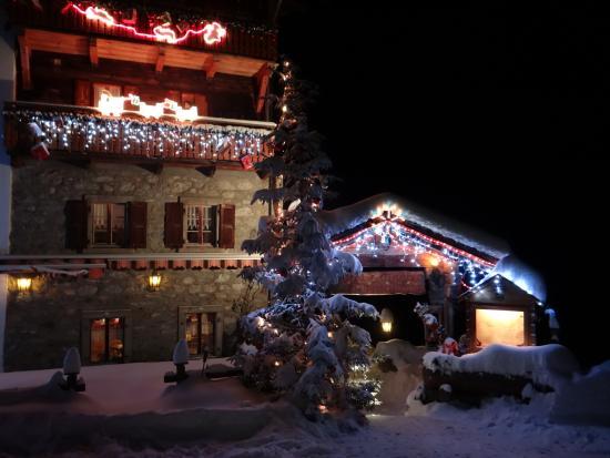 Arolla, Suiza: Entrée restaurant