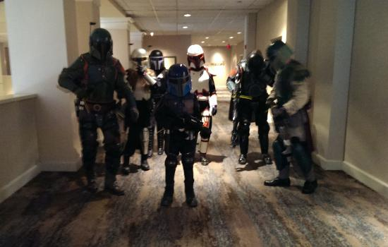 Doubletree Hotel Tulsa-Downtown: We Mandalorians approve of this hotel!