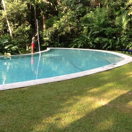 The Kandy House : Swimming pool area