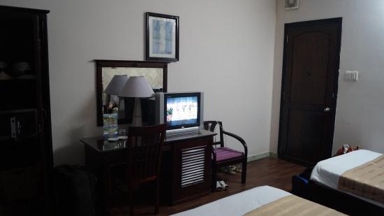 โรงแรมไวโอเลท: В номере 205.