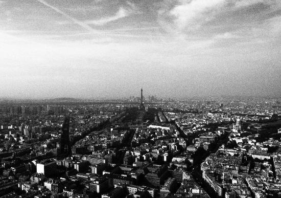 París, Francia: View from top of Tour Montparnasse
