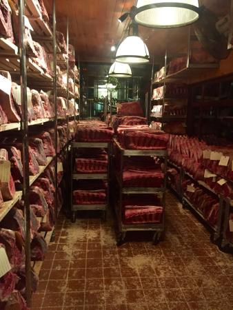 Gallagher S Steak House Dry Age Room