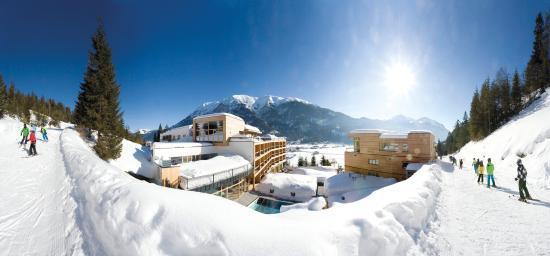 Achenkirch, النمسا: Außenansicht Winter