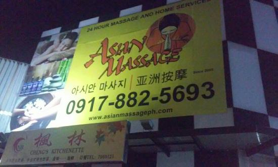 Makati City, Philippinen: Asian Massage