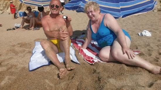 Hotel Catalonia: На пляже...