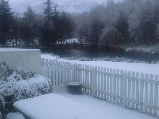 Newtonmore, UK: Area surrounding the cottages