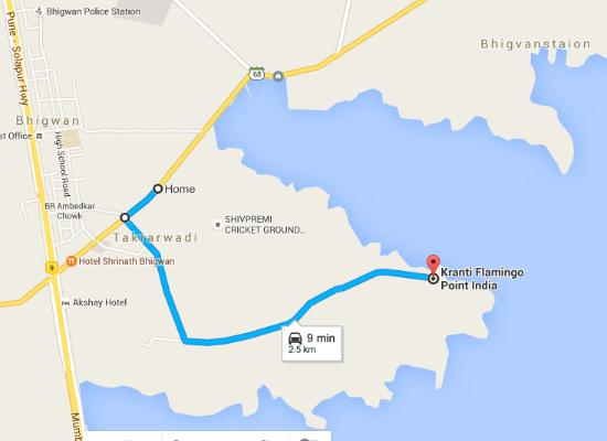 Baramati, India: map