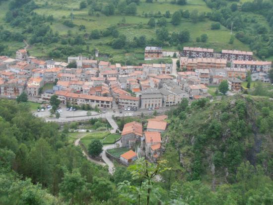 Hostal La Cabanya: Setcases desde lo alto