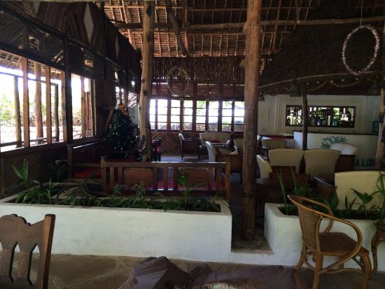 Baobab Sea Lodge : Dining and relaxation area