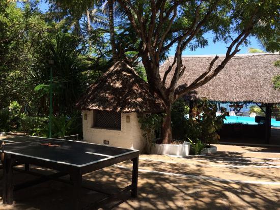 Baobab Sea Lodge : Ping Pong and Pool Bar