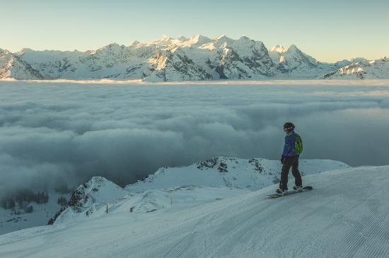 Suiza. El auténtico invierno.