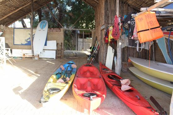 The Majlis Hotel: Water sports equipment