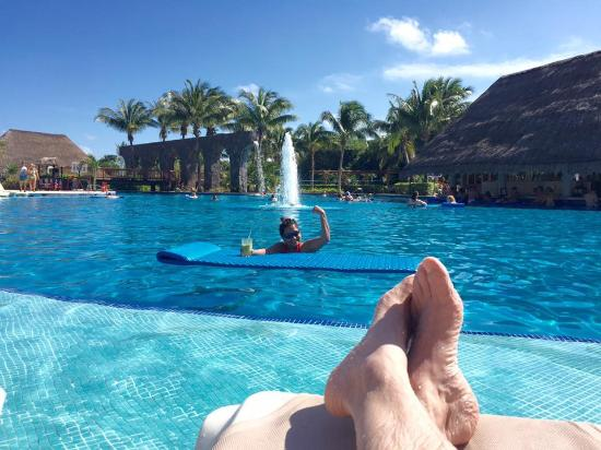 valentin imperial riviera maya lounging by the pool valentin imperial maya tripadvisor