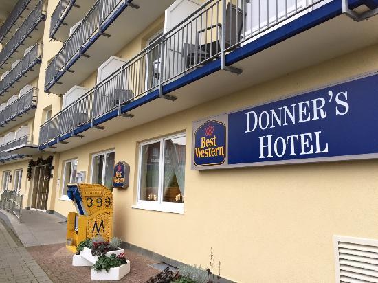 Best Western Donner'S Hotel & Spa: Eine gute Adresse in Cuxhaven