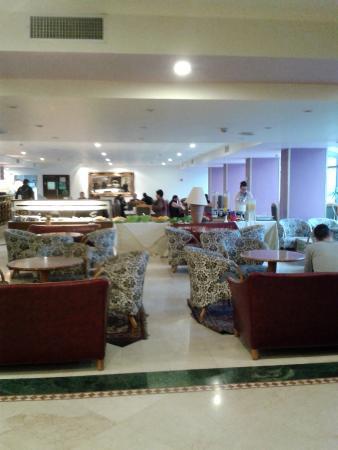 Jerusalem Gold Hotel: Zona de descanso