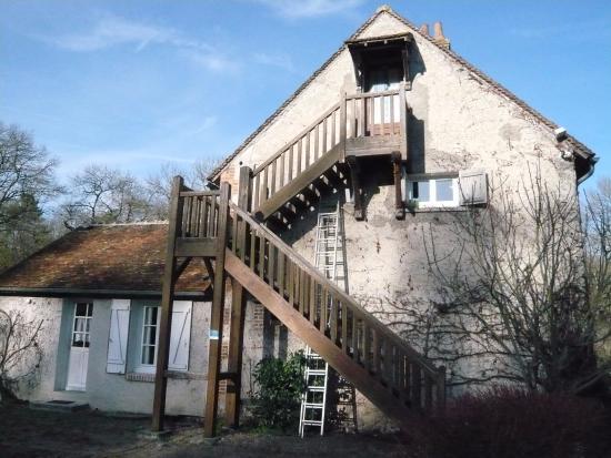 """Le Moulin de Crouy : L'entrée de """" La Goélette """""""