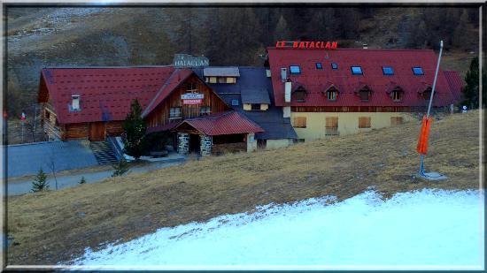 Restaurant Hotel le Bataclan: Vue du télésiège