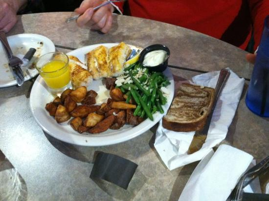 Franklin, WI: Baked Cod Dinner