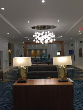 Club Quarters Hotel in Houston: lobby sublime