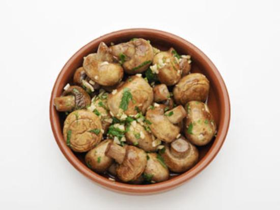 Las Tapas Cabinteely : Sautee Mushrooms