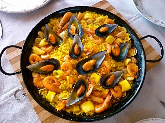 Las Tapas Cabinteely : Paella