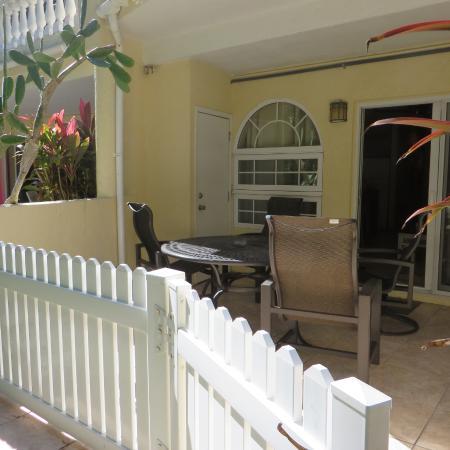 Sunrise Beach Clubs and Villas: deck