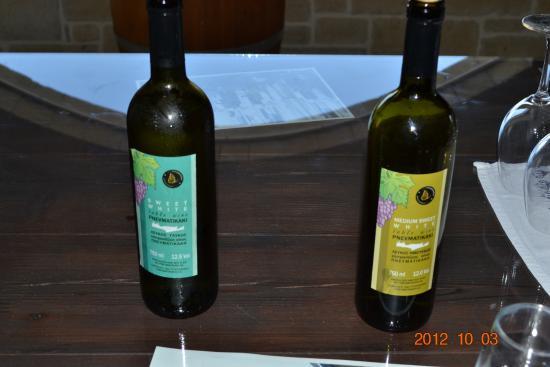 Drapanias, กรีซ: вино