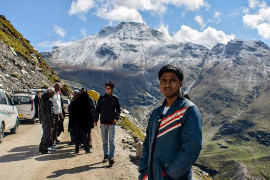 Hotel Park Paradise: Way to rohtang pass