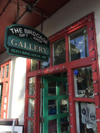 The Birdcage on Cordova Local Art Gallery